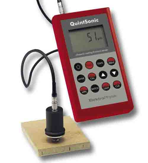 超声波涂层测厚仪QUINTSONIC