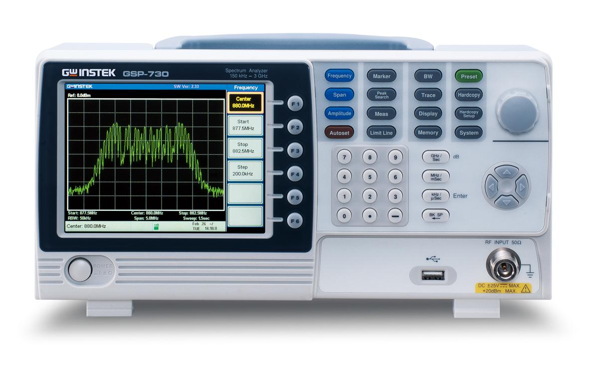 台湾固纬GSP-730频谱分析仪