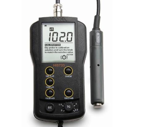 哈纳HI8733便携式电导率仪